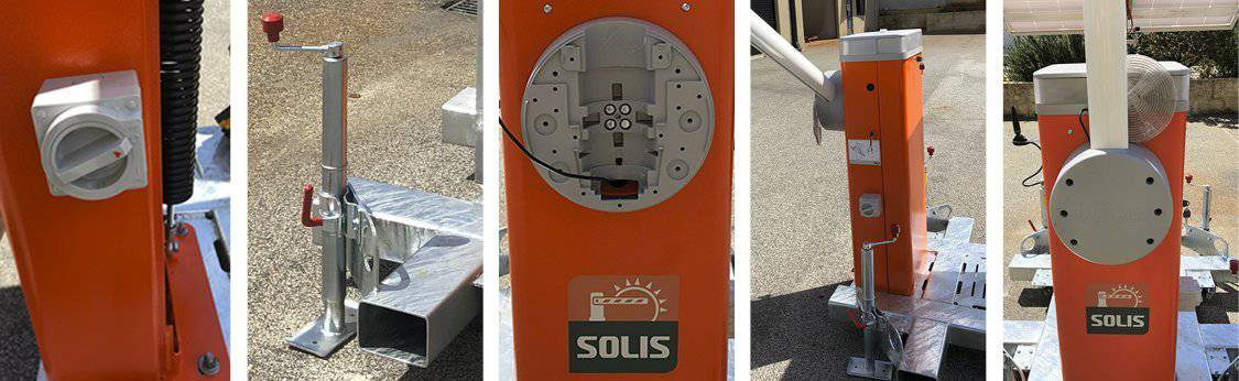 SOLIS - Solar Powered Boom Gate Technical Specifications